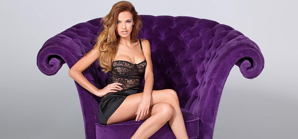 Elegant, luksuriøst og stilfuldt udvalg af pikant, sexet og frækt fransk lingeri og dameundertøj i høj kvalitet