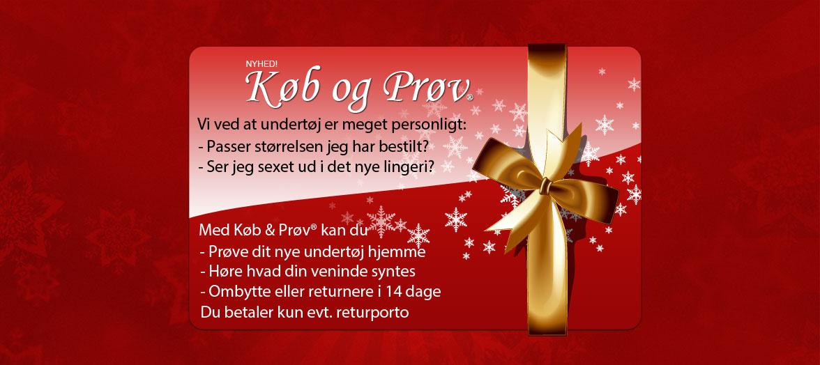 Køb og Prøv lingeri hjemme i 14 dage